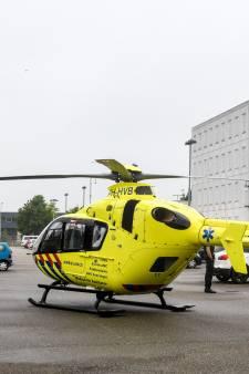 Traumahelikopter landt bij Alphense gevangenis voor medische noodsituatie gedetineerde