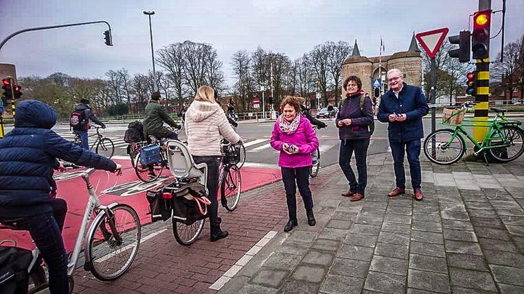 Brugge actie fietsersbond
