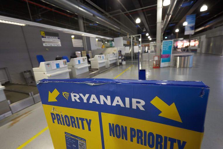 Afp Consument Lagekostenmaatschij Ryanair Kondigde Gisteren Aan Rolkoffertjes Vanaf November