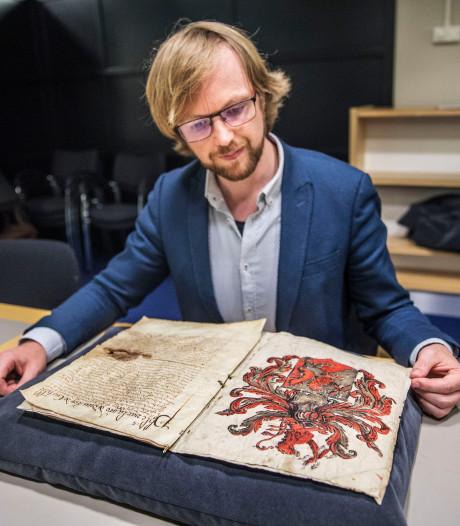 Koninklijke lofzang op een doodvonnis: brief uit 1590 over moord Willem van Oranje gevonden