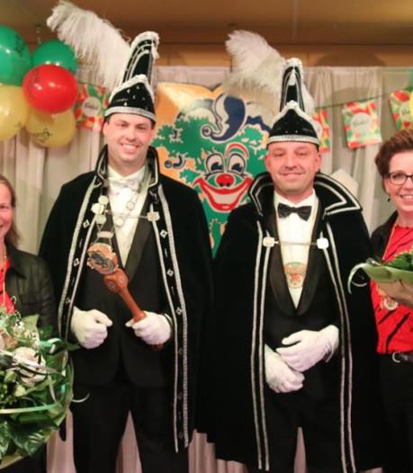 Carnavalstronen in gemeente Tubbergen weer bezet