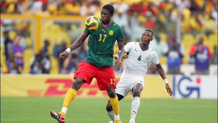 Mohamadou Idrissou, hier met nummer 17.