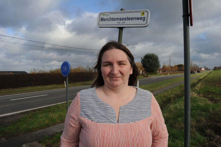 Buurtbewoonster Nathalie Peeters is de gierende banden al gewoon.
