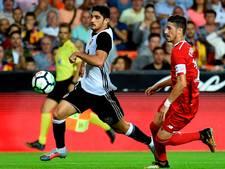 Valencia blijft in spoor van Barça