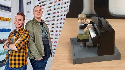 Björn en Corneel van 'LEGO Masters' tonen hoe je piano bouwt