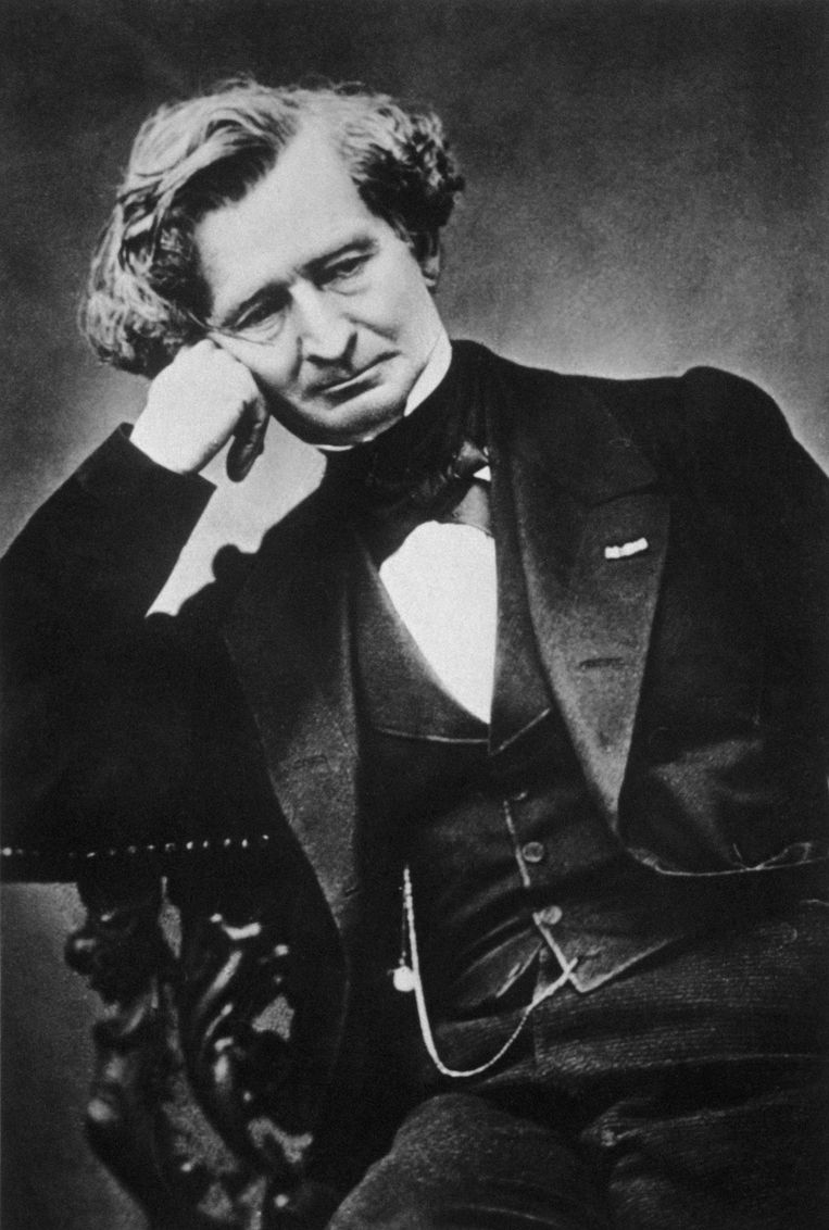 De Franse componist Hector Berlioz (1803-1869). Beeld Gamma-Rapho via Getty Images