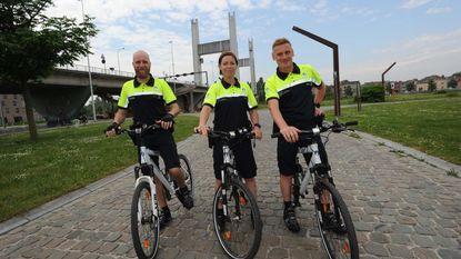 Agenten fietsen nu ook door zone VIMA