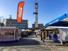 Markt in Hengelo op twee locaties vanwege corona