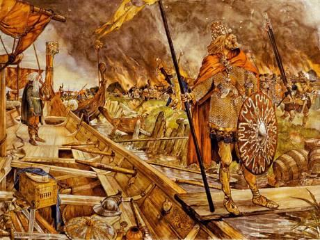 250 Vikingen slaan tenten op in Archeon