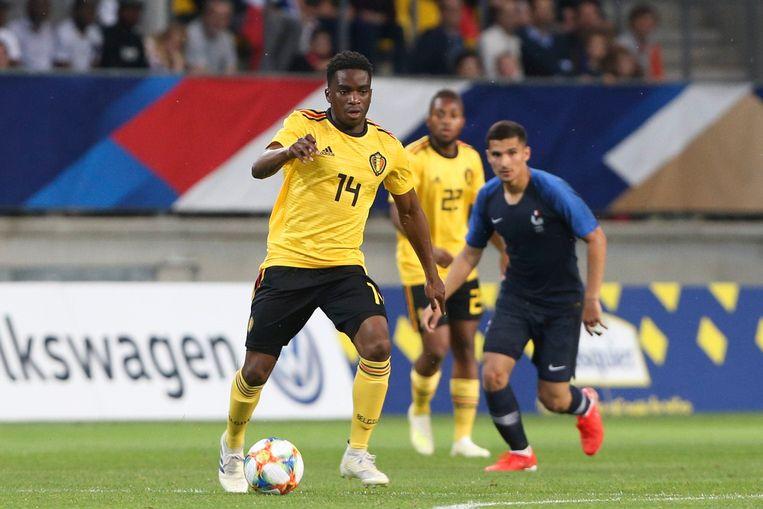 Stephane Omeonga aan de slag voor de Belgische U21