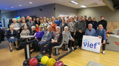 Vief Gistel gaat potje bowlen tijdens nieuwjaarsbijeenkomst
