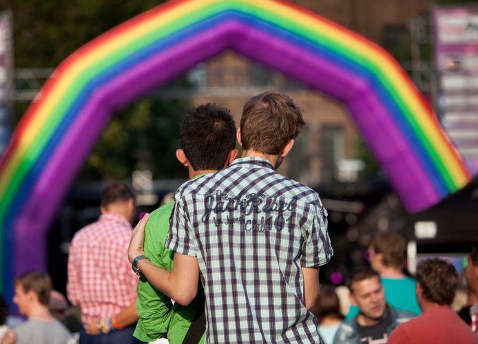 De demonstranten verlangen terug naar de 'oude' Pride.