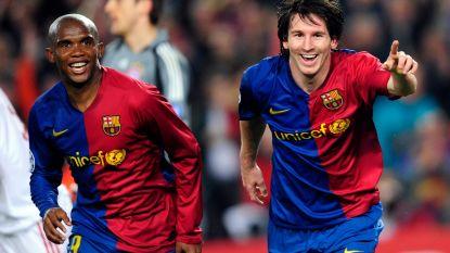 """Samuel Eto'o: """"Barcelona te afhankelijk van Messi? Dat is normaal, ik hoop dat hij voetbalt tot zijn 70ste"""""""