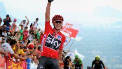 18 dagen in het rood en bloemetjes voor meesterknecht Nieve: zo won Froome de Vuelta