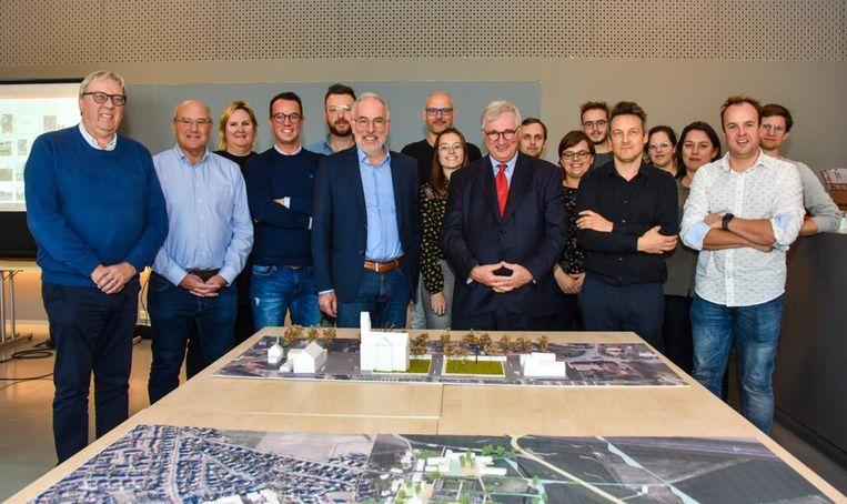 Gemeente Koksijde en provincie West-Vlaanderen bereidden samen een toekomstplan voor voor Koksijde-Dorp