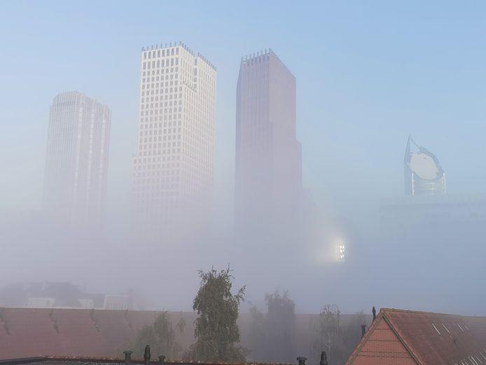 Mist in Den Haag.