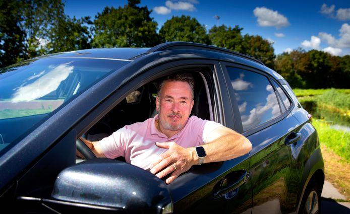 René in 'zijn' Hyundai Kona Electric