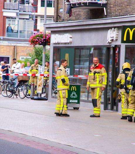 Gaslek bij McDonald's in Apeldoorn: pand ontruimd
