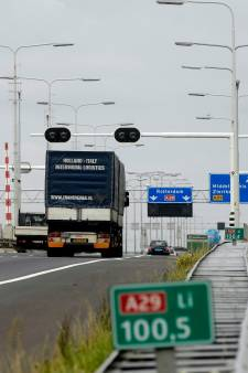 Fikse files op snelwegen door afsluiting A16 van Breda richting Dordrecht opgelost