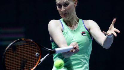 Alison Van Uytvanck buigt in drie sets voor Kvitova