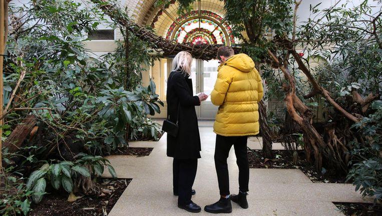De kunstenaars hebben zich laten inspireren door de flora en fauna van Artis Beeld Ronald van Weeren