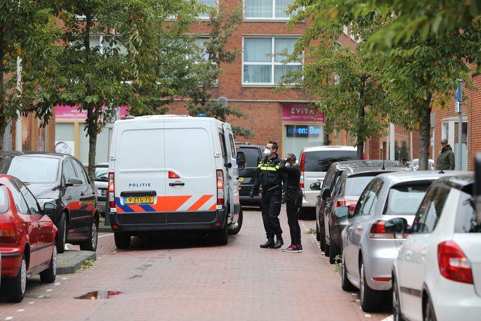 Inzet politie Graskopstraat Den Haag