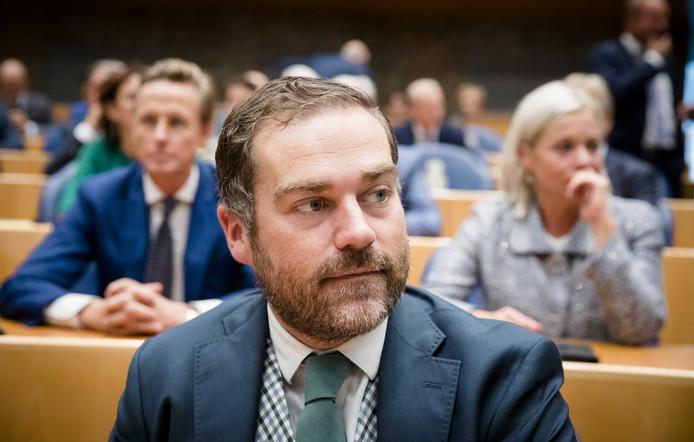 Fractieleider Klaas Dijkhoff van de VVD.