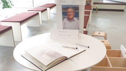 Rouwregister voor overleden ereburgemeester Lode Van Dessel (87 jaar)