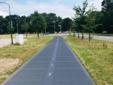 Rhenen krijgt een zonnefietspad van 25 meter lengte