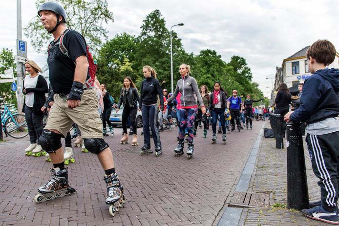 a2f0ff59a37 Skate Parade ontmoedigt trage skaters: 'Oefen nog even verder ...