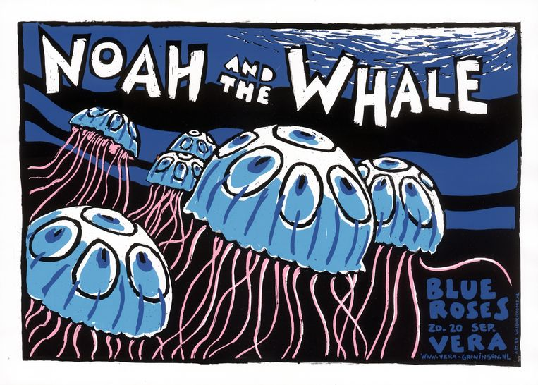 Noah and the Whale  Beeld Willem Kolvoort