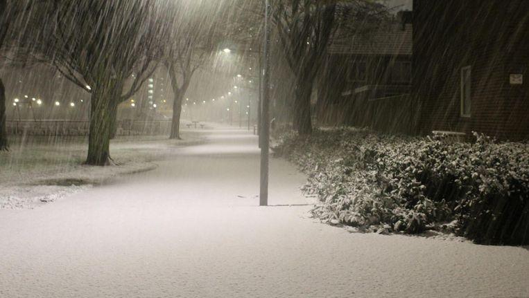 Sneeuw in Breda Beeld anp