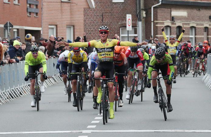 Begin dit jaar won Enzo Wouters in een sprint Gent-Staden. In 2021 zal er geen opvolger zijn voor de pion van Tarteletto-Isorex.