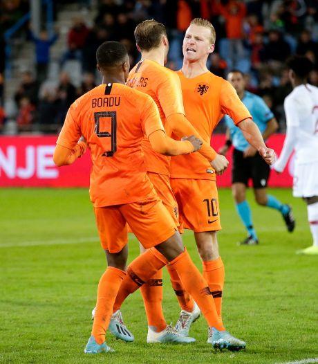 Ontketend Jong Oranje houdt huis: AZ-trio pakt spotlights bij monsterzege in Belarus