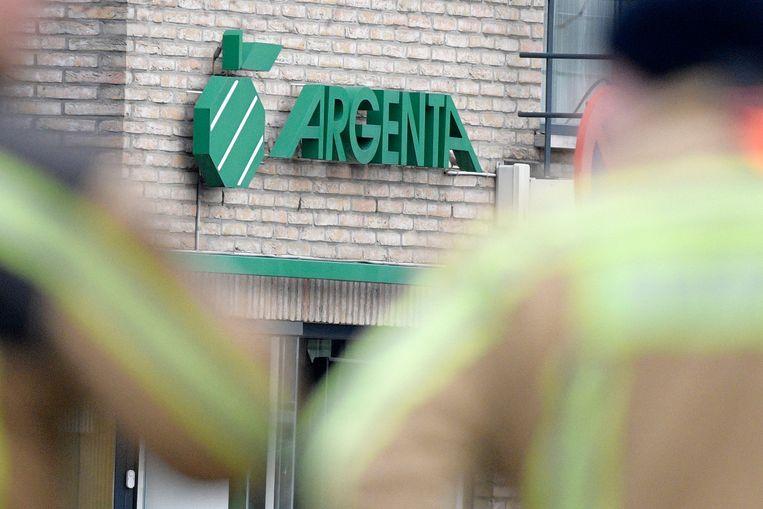In februari was een Argenta-kantoor in Bree ook al eens het doelwit van een plofkraak.