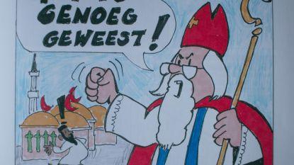 """""""Bijzonder jammer"""", Vlaams Belang zet Sinterklaas in tegen islamisering maar daar is niet iedereen mee opgezet"""