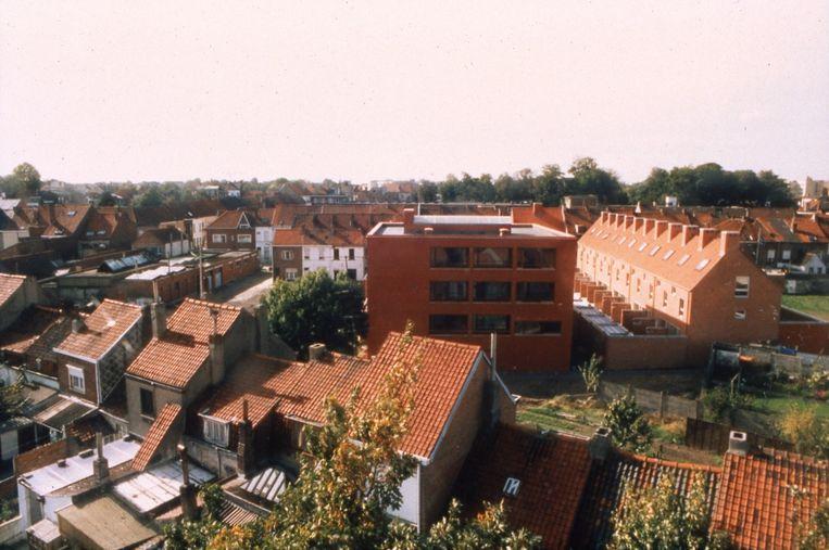 Het Pradopark ligt in de negentiende-eeuwse gordel van Kortrijk.
