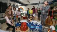 Kinderen bouwen kunstzinnige steden