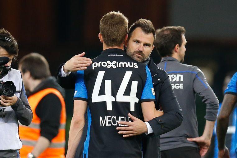 Leko troost Mechele, één van de absolute sterkhouders van Club dit seizoen.