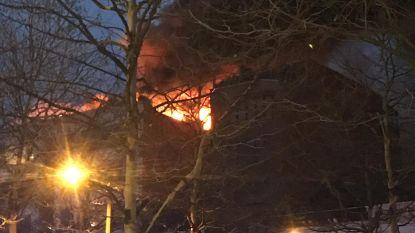 Brand aan flatgebouw in centrum Antwerpen onder controle