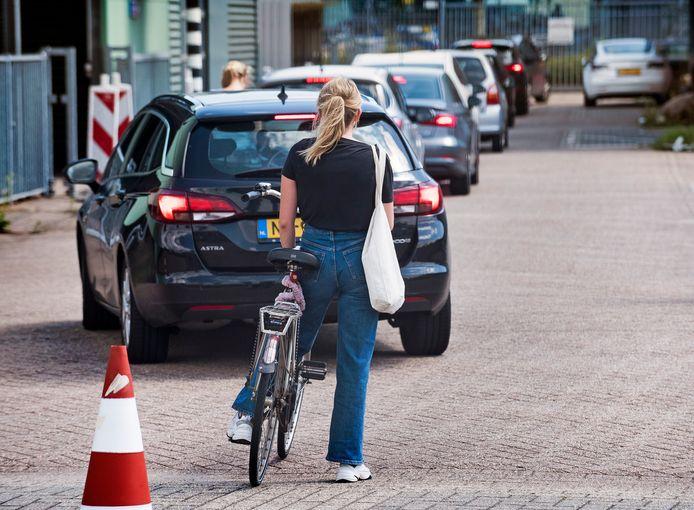 De teststraat aan de Koploperstraat in Utrecht