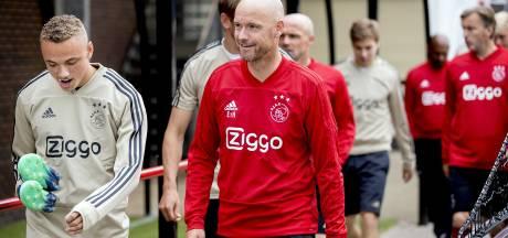 Oud-Willem II'ers Lamprou en De Jong blijven bij Ajax