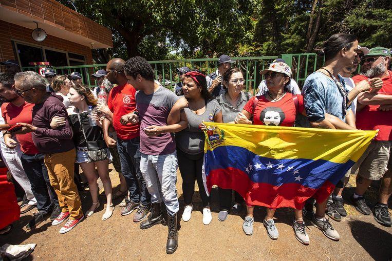 Ambassade van Venezuela bestormd in Brasilia