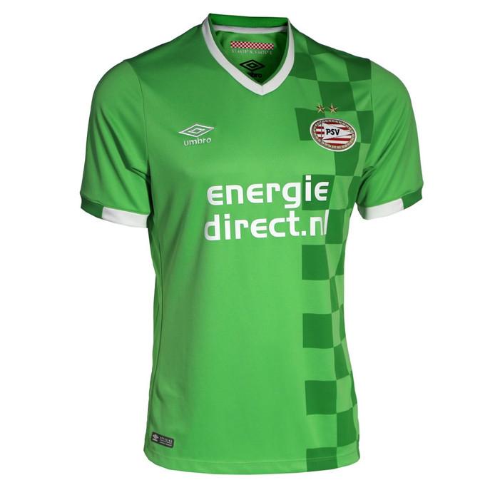 Het nieuw geïntroduceerde groene shirt