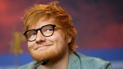 Ed Sheeran bouwt extra optrekje... in de vorm van de ark van Noach