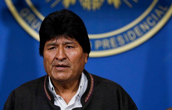 President Evo Morales
