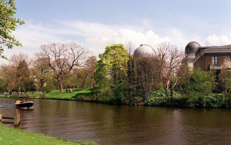 De sterrenwacht in Leiden Beeld anp