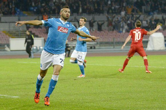 Omar El Kaddouri, toen bij Napoli.
