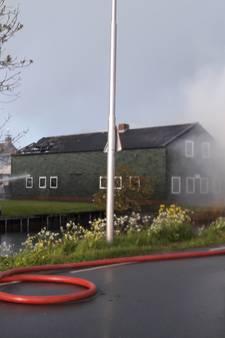 In brand gevlogen gebouw in Nieuwland was mogelijk drugslab
