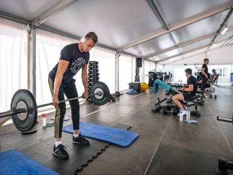 Tijdelijke fitnesstenten moeten weg van gemeente, de outdoor gym gaat niet helemaal weg